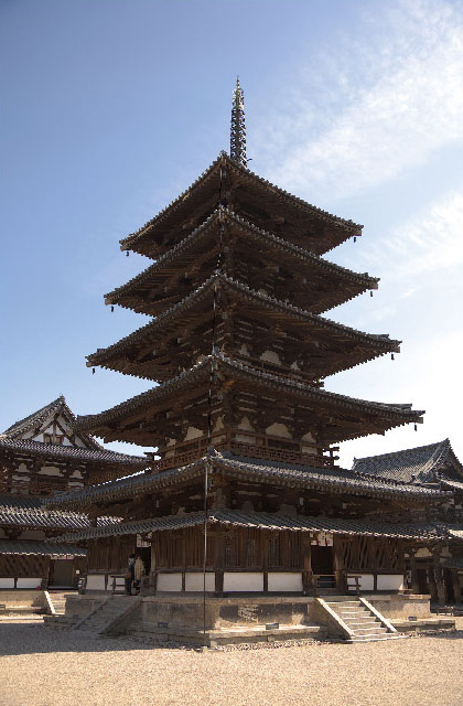 長寿 法隆寺に学ぶ