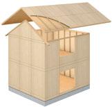 木造枠組壁工法(パネル工法)