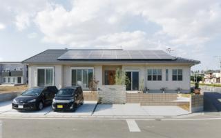 10kWの太陽光発電を搭載した、こだわり満載の平屋の住まい